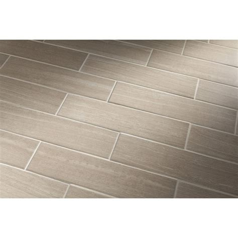 Lowes Bathroom Floor Tiles by Shop Style Selections Leonia Sand Glazed Porcelain Indoor