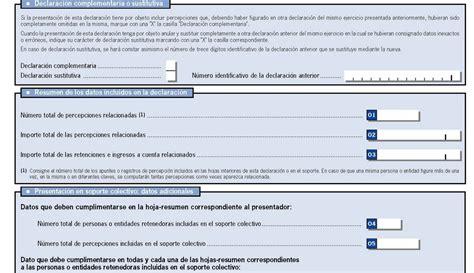 Resumen Anual In by Sauzalito S Modelo 190 Resumen Anual De Retenciones