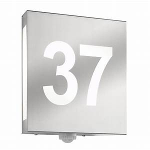 Außenleuchte Mit Hausnummer : hausnummernleuchte au enleuchte wandleuchte mit hausnummer cmd 27 hn aqua matteo ~ Buech-reservation.com Haus und Dekorationen