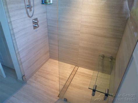 barrier  curbless rain shower coquittlam