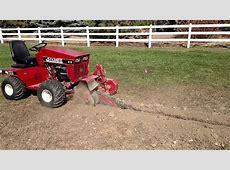 Homemade Garden Tractor Trencher Garden Ftempo