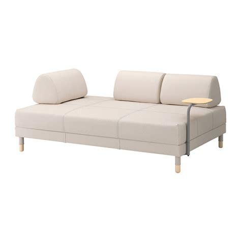 mini canapé ikea flottebo canapé lit avec table d 39 appoint lofallet beige