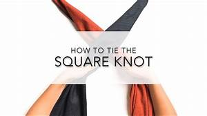 Instructions  How To Tie A Furoshiki Square Knot