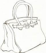Bag Coloring Hermes Drawing Handbag Pages Kelly Drawings Line God Greek Deviantart Lesson Getdrawings Login sketch template