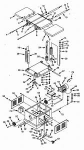 Craftsman 351226220 Planer Parts