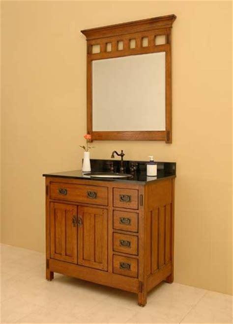 Mission Style Bathroom Vanity - best 25 craftsman style bathrooms ideas on