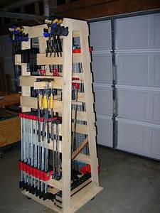 Clamp Storage Rack Plans - Listitdallas