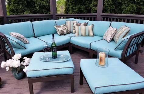 how to reupholster or recover outdoor patio cushions