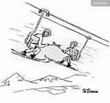 Ski Cable Lift Cartoon Coloring Lifts Funny Cartoons Skis Cartoonstock Sketch Template Skiing Comics sketch template