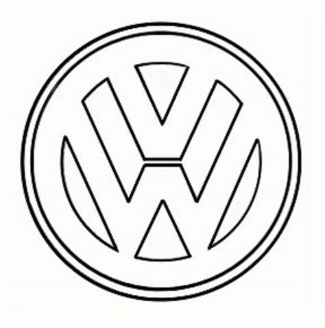 volkswagen logo black and white volkswagen logo