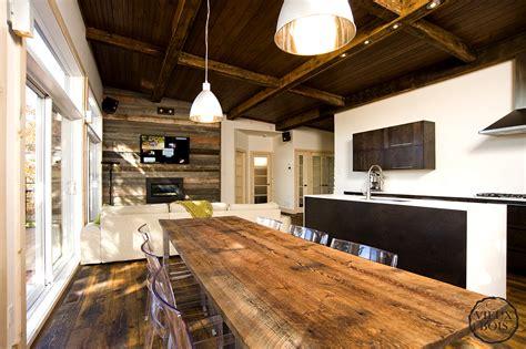 cuisine en vieux bois cuisine moderne vieux bois maison moderne