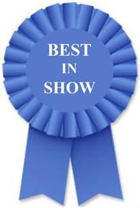 Best in Show Ribbon Clip Art