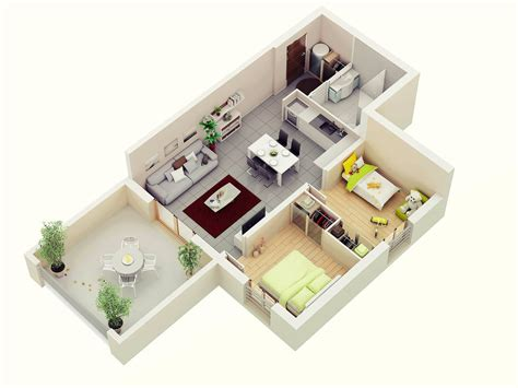 25 More 3 Bedroom 3d Floor Plans 4 Clipgoo