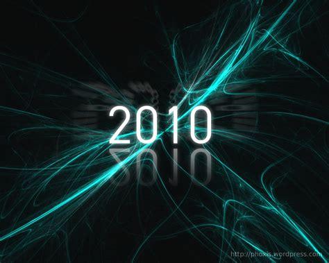 New Year 2010 Gimp Wallpaper Phoxis
