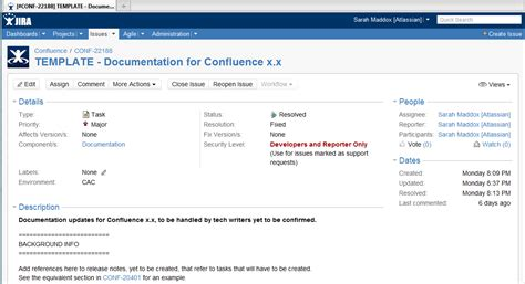 jira template jira cloning to create a template for repeated documentation tasks ffeathers
