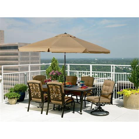 la z boy outdoor dcai 7pc caitlyn 7 pc dining set