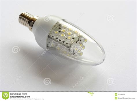 led light bulb energy saving royalty free stock photo