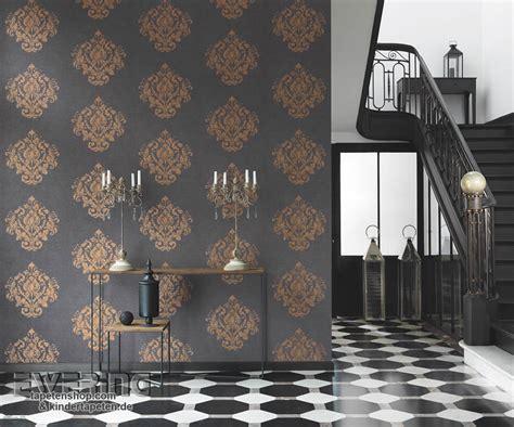 Muster Tapeten Schlafzimmer by Streifen Tapete Ewering