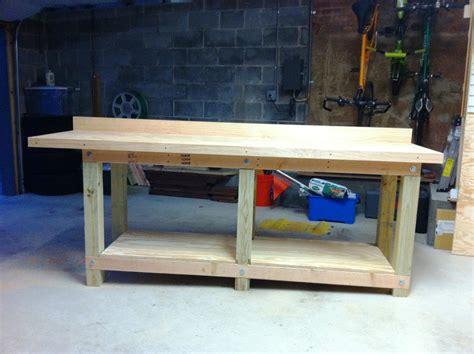 cool garage workbench ideas  plans edoctor home designs
