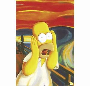 THE SIMPSONS POSTER HOMER SIMPSON