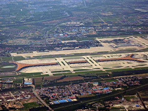 Neuer Flughafen Peking by Beijing Capital International Airport