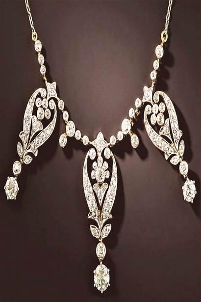 Diamond Tiffany Necklace Jewelry Company Edwardian Mm