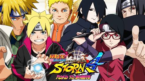 Naruto Adulto, Minato E Boruto Vs Sasuke Adulto, Itachi E