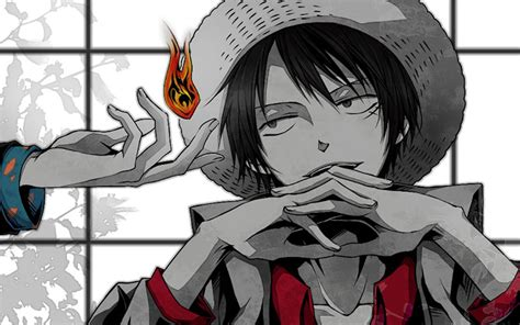 piece anime monkey  luffy  wallpaper high