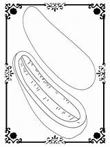 Cucumber Sea Template Coloring Pages sketch template