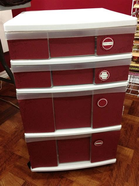 Tracys Treasures: Working on 12x12 paper storage and Day 10