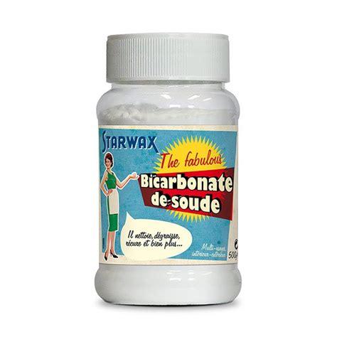 bicarbonate de soude cuisine bicarbonate de soude 500 g starwax produits d 39 entretien