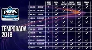 Telcel presenta NASCAR PEAK MÉXICO SERIES con nuevo logo ...