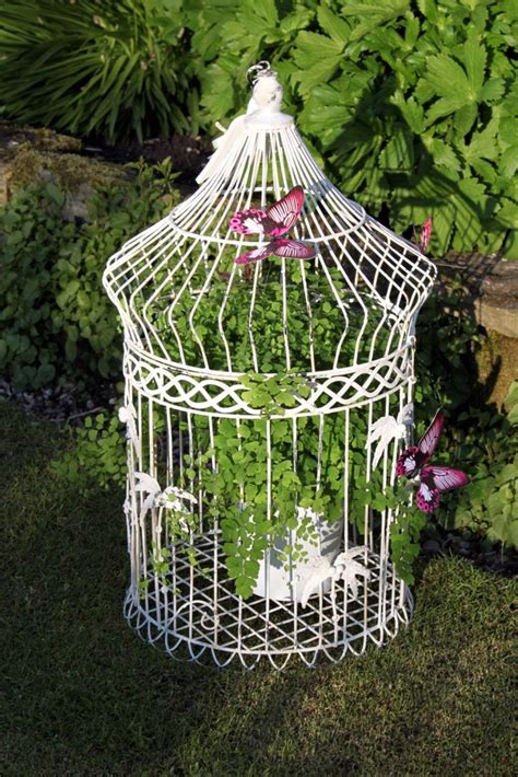 diy bird cage decoration 17 best images about bird cages on pinterest small bird cage hanging planters and metals