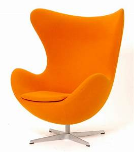 fauteuil oeuf egg mobilier interieurs With fauteuil jacobsen