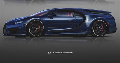 Four-door And Shooting Brake Bugatti Chirons Are