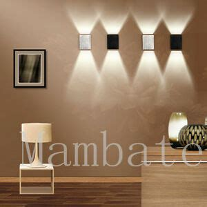 3w led square wall l hall porch walkway bedroom livingroom home fixture light ebay