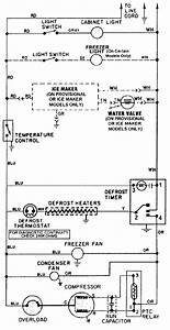 My Light Switch On My Maytag Refrigerator  Model   Mtb2456ae  Is Not Working  The Switch Is