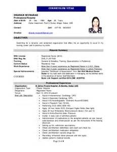 Dhanak Mubarak Cv Dha Licensed Registered Nurse 2 1