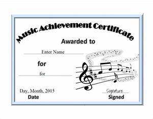 free sample certificates of choir just bcause With choir certificate template