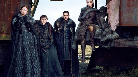 wallpaper game thrones season jon snow arya stark