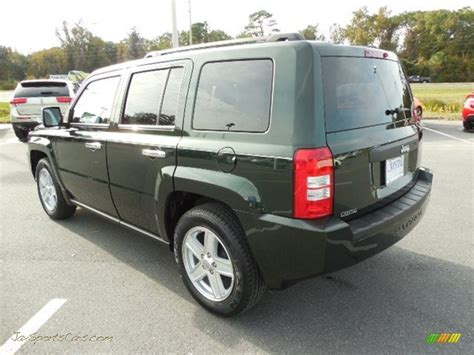 dark green jeep patriot 2010 jeep patriot sport in natural green pearl photo 3