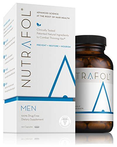 Amazon.com: Nutrafol Women Advanced Thinning Hair & Hair