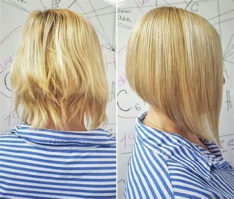 Diese frisuren passen optimal zu euch. Frisuren bob kurz stufig hinten - Beliebte Frisuren 2020