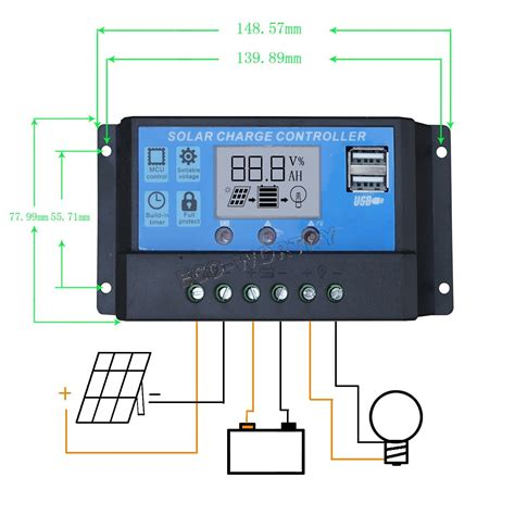 Eco Worthy Watt Solar Panel With Pwm Charge