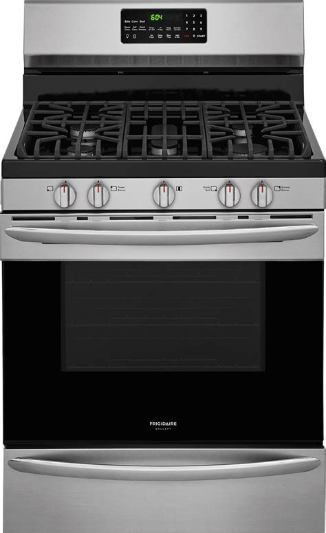 frigidaire gallery appliance package   cu ft gas