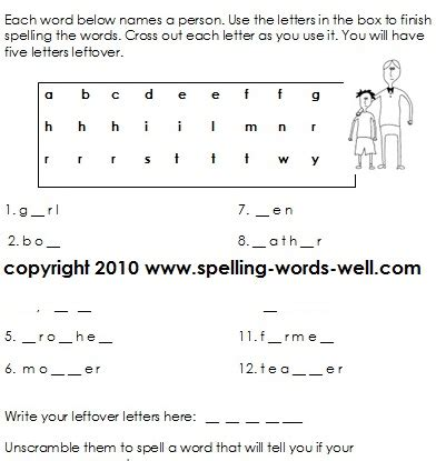 second grade worksheets for language learning
