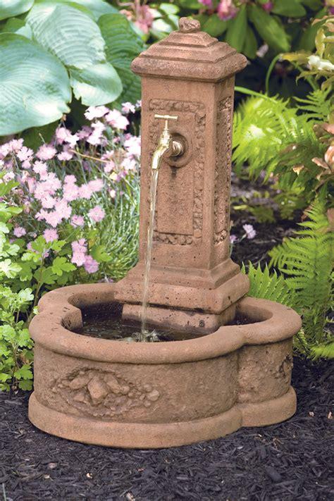 petite garden fountain massarellis