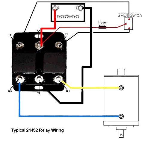 dc winch motor wiring diagram winch forward wiring diagram get free image