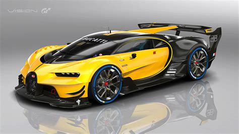 Bugatti Vision Gran Turismo Show Car Revealed At Frankfurt