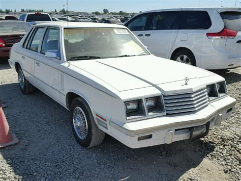1984 Dodge 600 Sedan Sole Survivor Luxury Classic